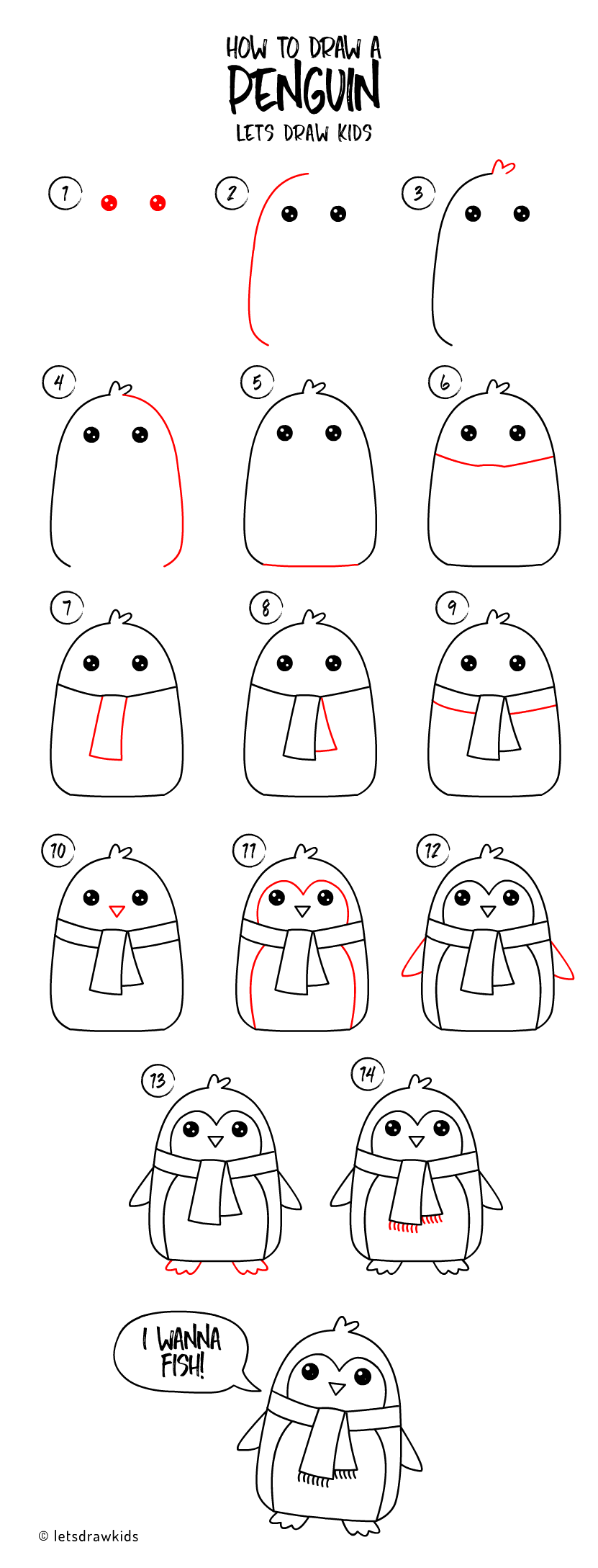 christmas drawings step by step how to draw a penguin easy drawing step by step perfect step step by christmas drawings