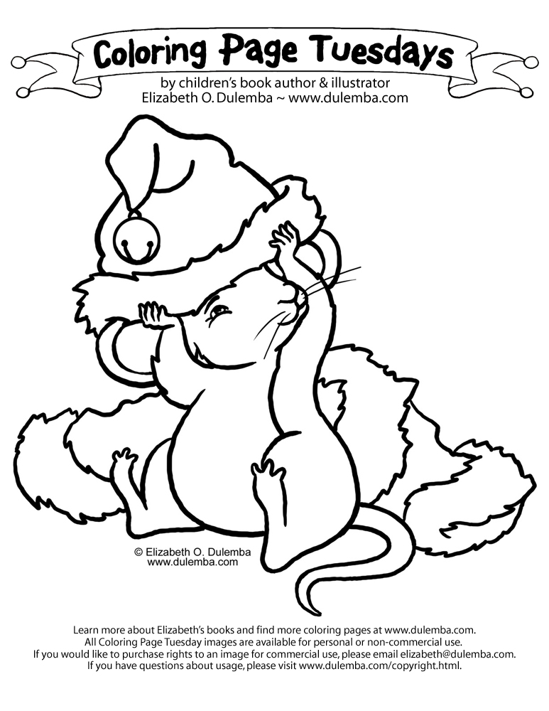 christmas mouse coloring pages dulemba coloring page tuesday christmas mouse coloring mouse christmas pages