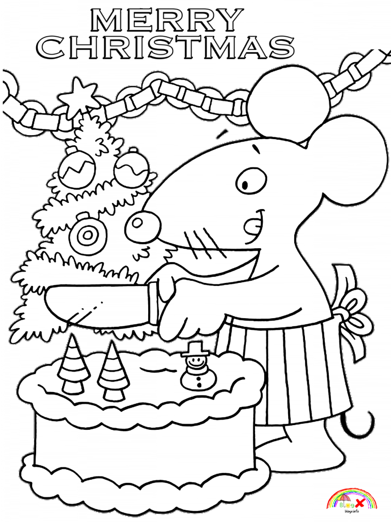 christmas mouse coloring pages merry christmas 2019 cute mouse coloring page blogx mouse christmas pages coloring