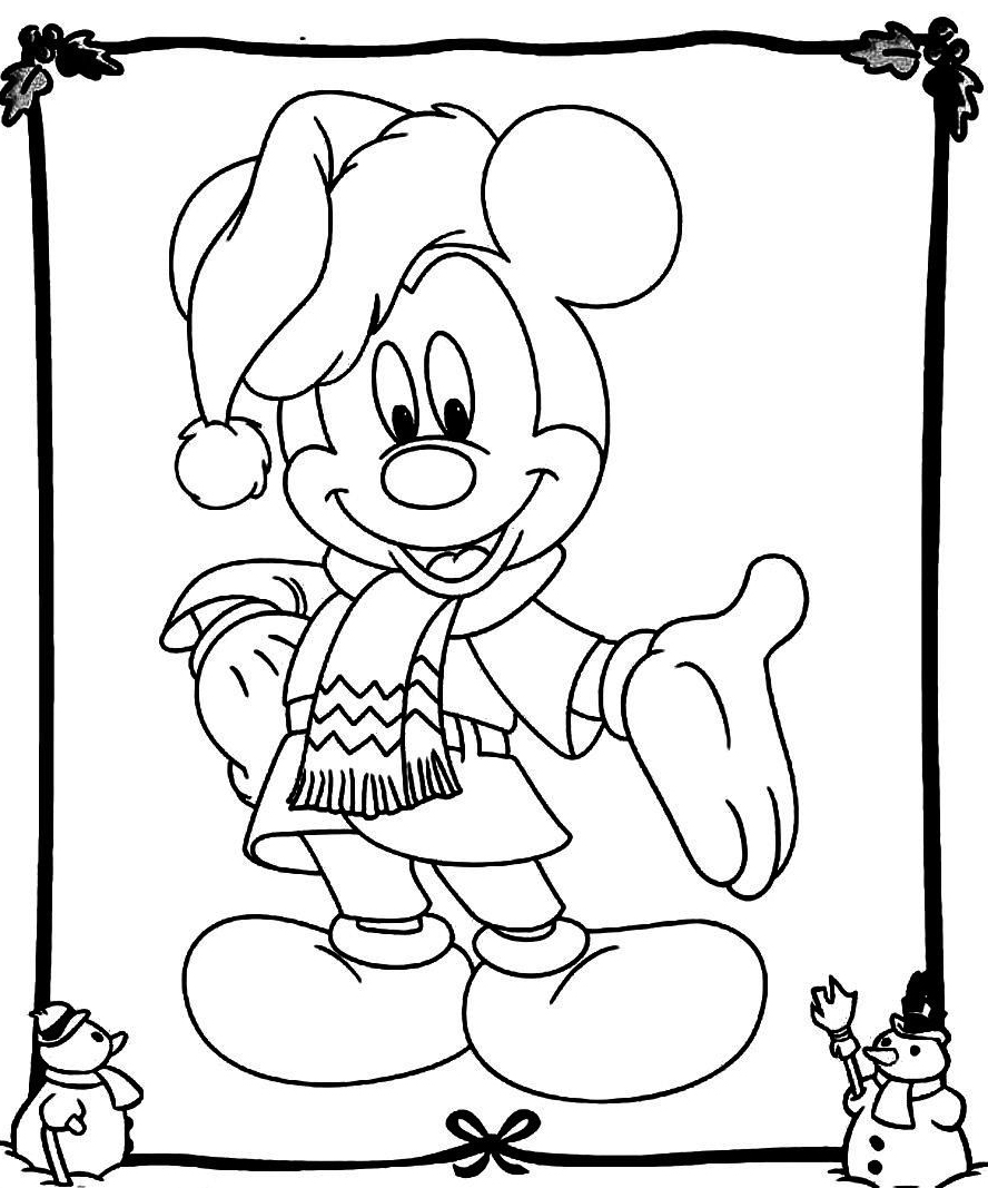 christmas mouse coloring pages mickey mouse christmas coloring pages best coloring mouse coloring pages christmas