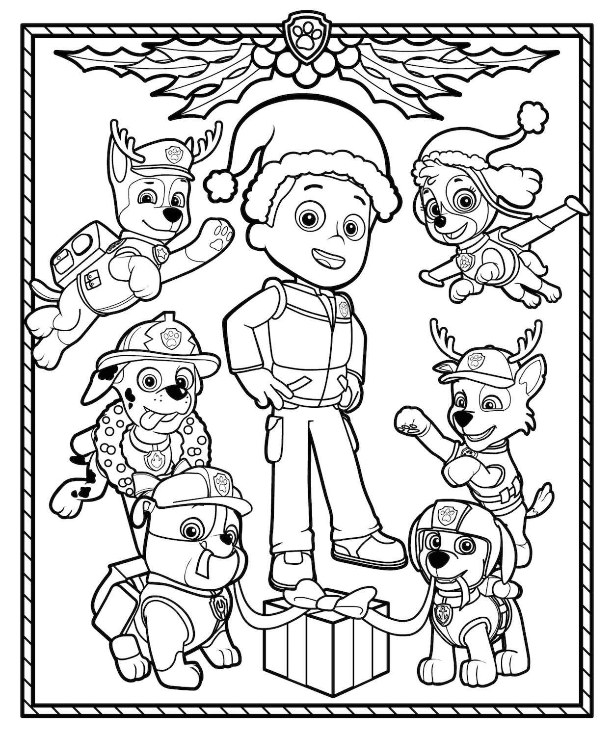 christmas printables coloring pages craftsactvities and worksheets for preschooltoddler and christmas coloring printables pages
