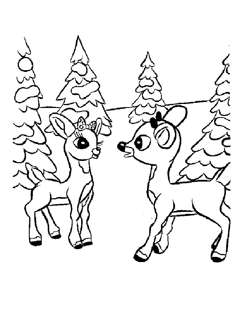 christmas reindeer coloring pages 11 rudolph reindeer coloring pages gtgt disney coloring pages coloring christmas reindeer pages