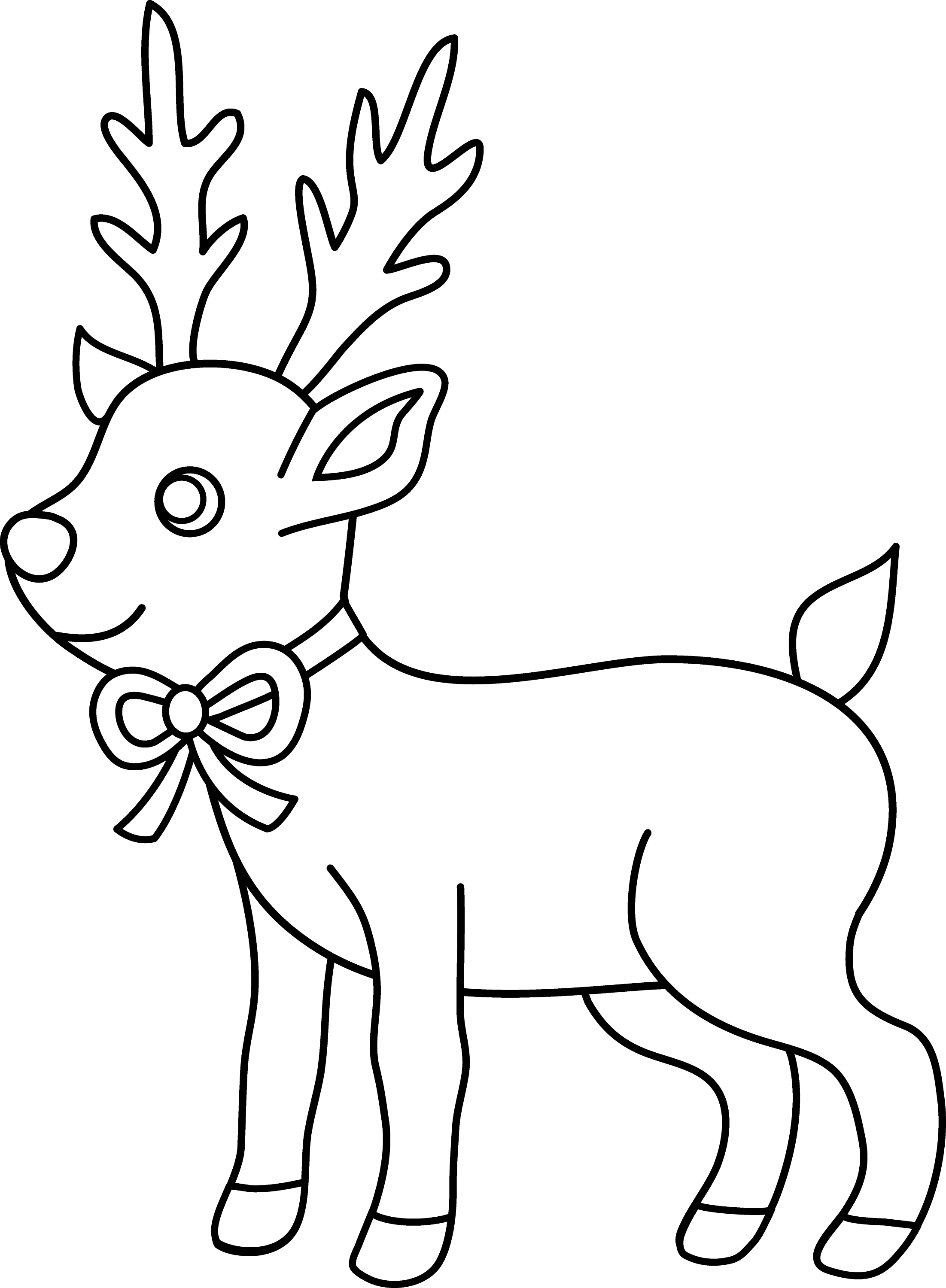 christmas reindeer coloring pages christmas reindeer coloring page free clip art reindeer coloring pages christmas