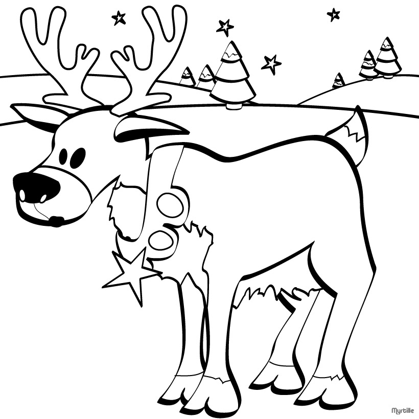 christmas reindeer coloring pages free printable christmas reindeer coloring pages christmas pages coloring reindeer