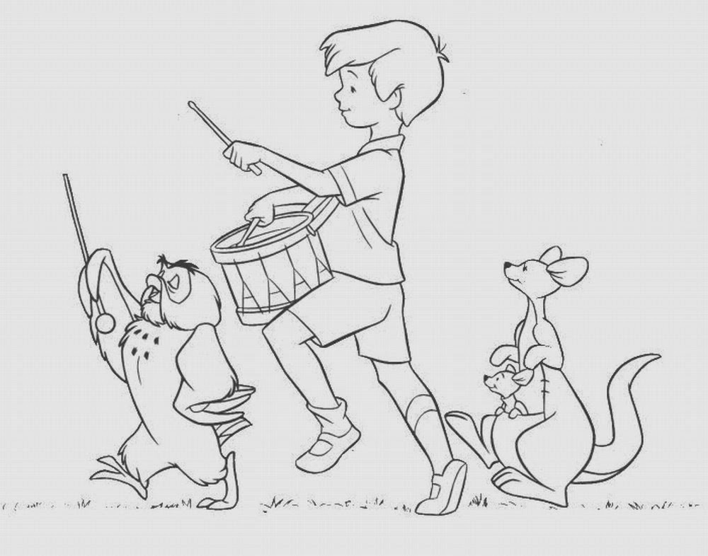 christopher robin coloring pages 5 winnie the pooh christopher robin coloring pages christopher coloring robin pages