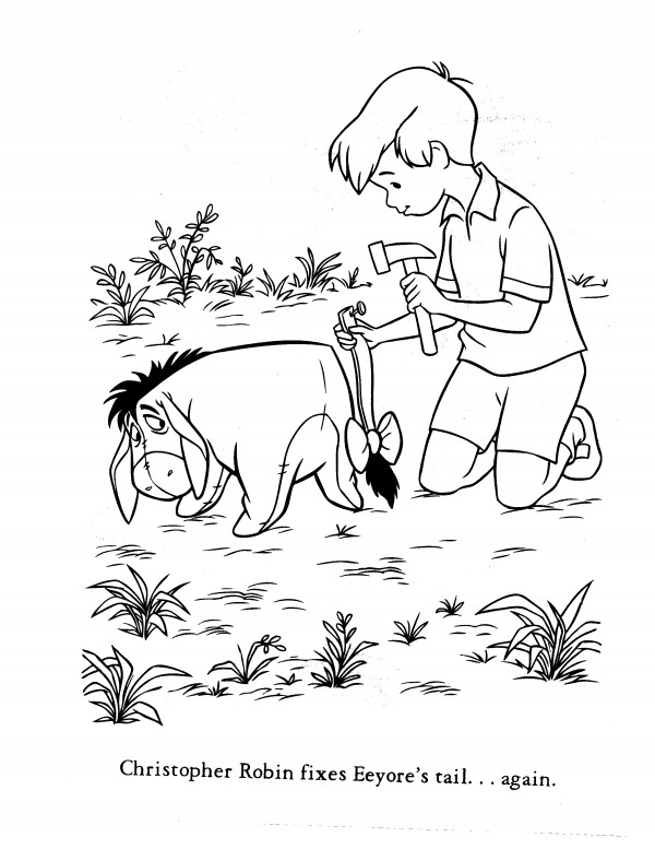 christopher robin coloring pages christopher robin coloring pages christopher robin pages coloring