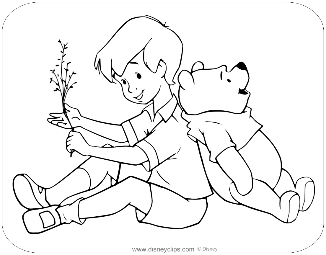 christopher robin coloring pages disney christopher robin coloring pages christopher coloring robin pages