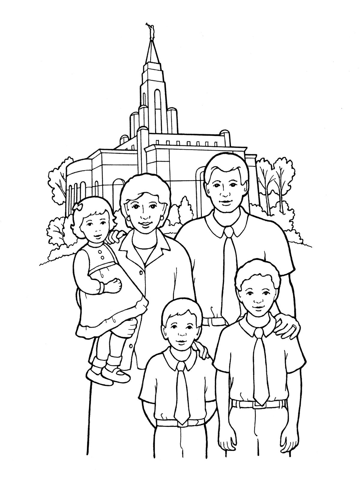 church family coloring pages coloring pages of families going to church coloring home church pages family coloring