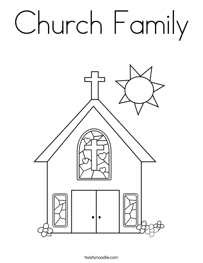 church family coloring pages family going to church coloring page coloring sky coloring church pages family