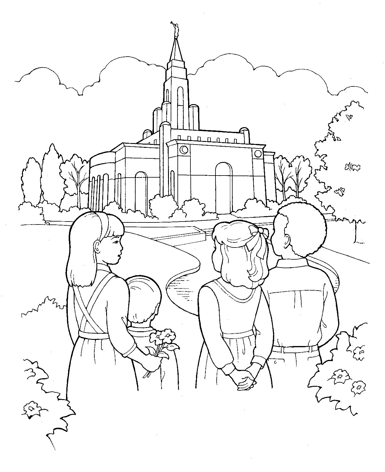 church family coloring pages image result for circle of people coloring page people church coloring pages family