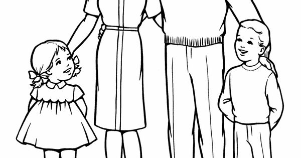church family coloring pages pin on for kids lds primary coloring family church pages
