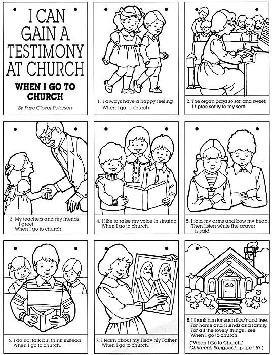 church family coloring pages year 01lesson 43 going to church lds coloring pages pages family church coloring