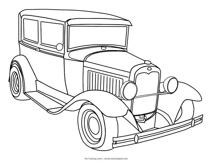 classic car coloring pages printable cars printable coloring pages bestappsforkidscom classic pages car printable coloring