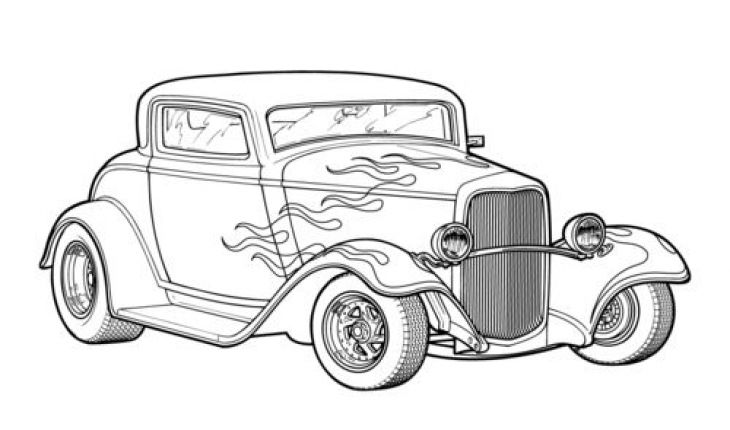 classic car coloring pages printable classic car coloring page free printable coloring pages printable car coloring pages classic