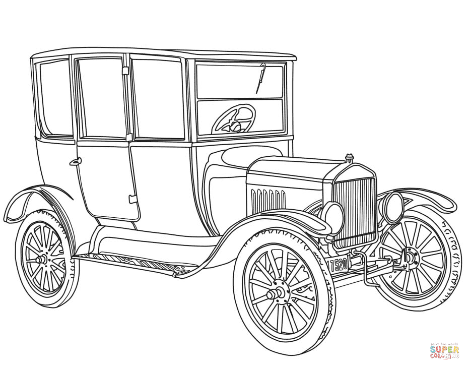 classic car coloring pages printable classic hot rod car coloring page printable car printable coloring classic pages