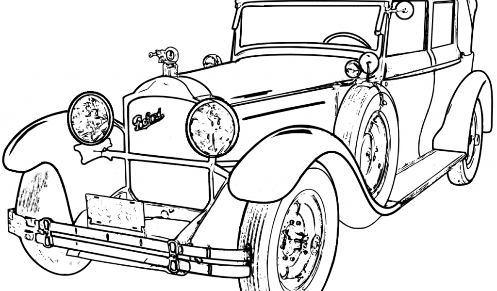 classic car coloring pages printable convertible coupé concept car coloring page free classic pages printable coloring car