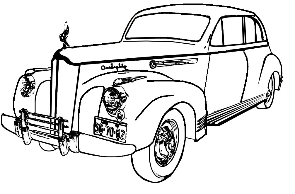 classic car coloring pages printable muscle car coloring pages at getcoloringscom free printable car pages classic coloring