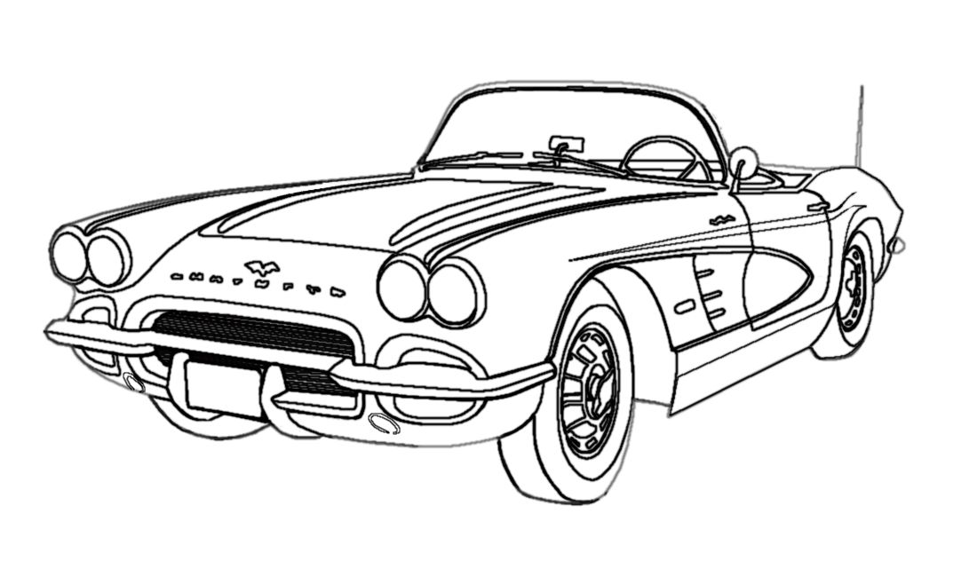 classic car coloring pages printable muscle car coloring pages to download and print for free printable classic car coloring pages