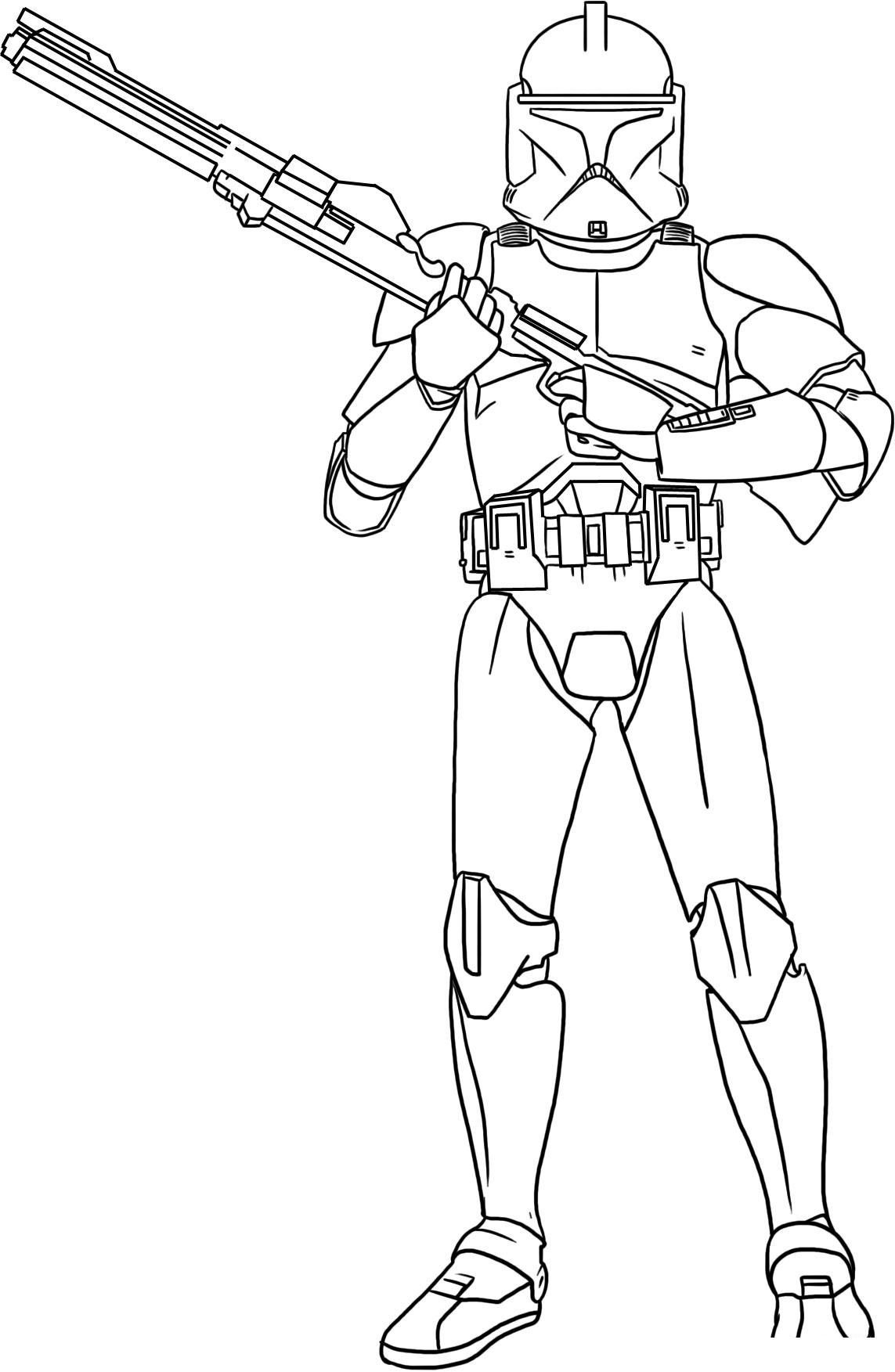 clone trooper colouring pages clone soldiers running coloring pages hellokidscom pages trooper colouring clone