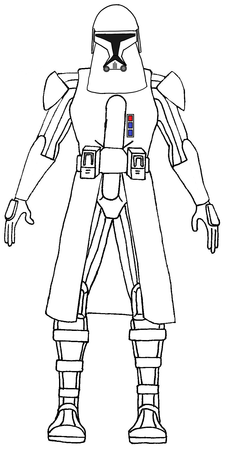 clone trooper colouring pages coloring and drawing clone trooper captain rex star wars clone trooper colouring pages