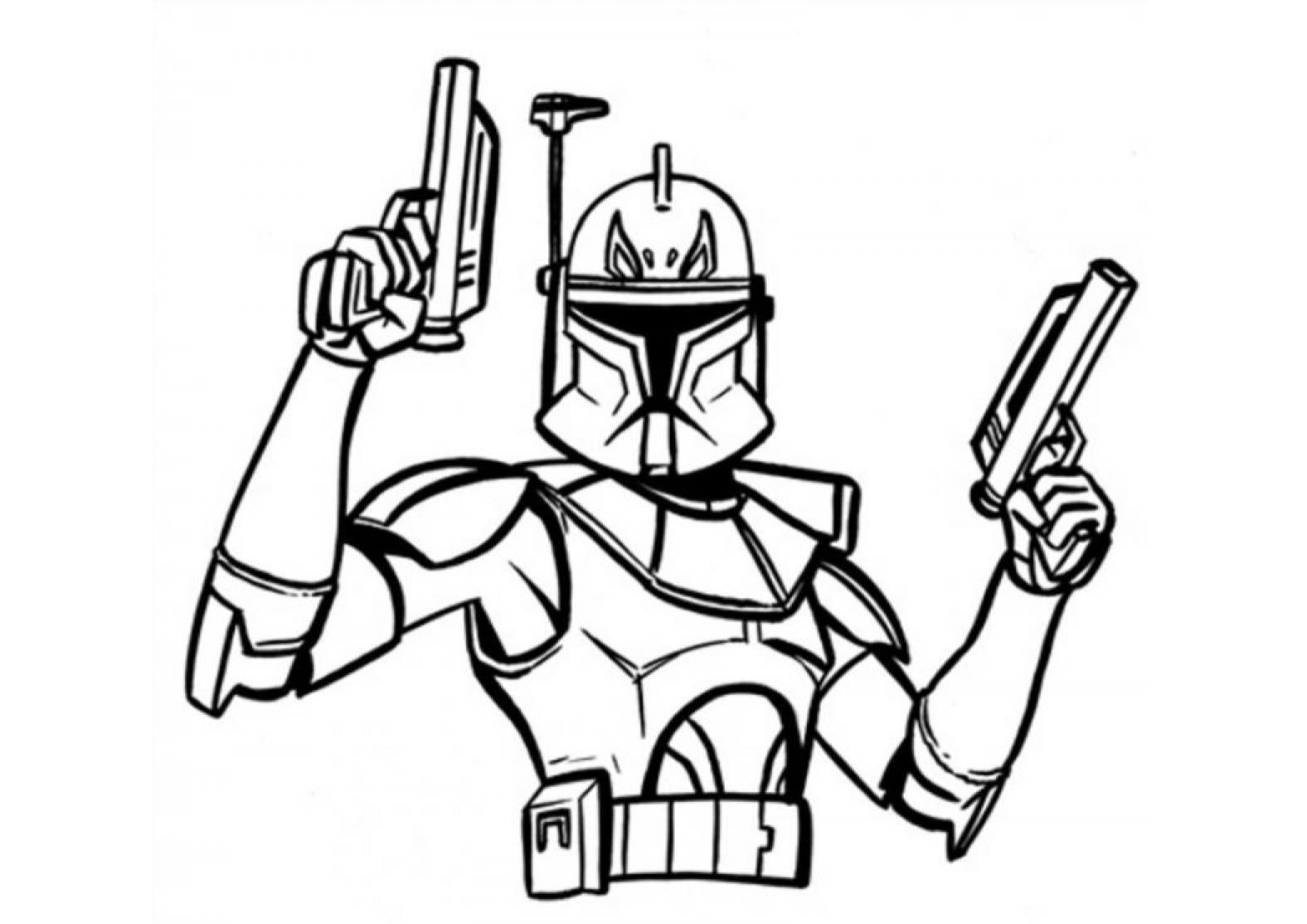 clone trooper colouring pages star wars clone trooper drawing at getdrawings free download pages clone colouring trooper