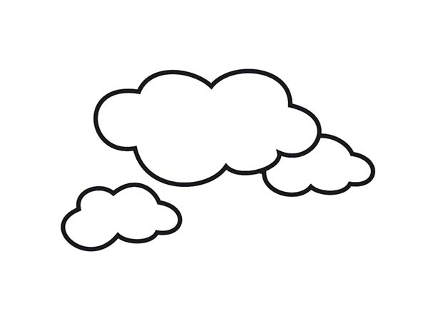 cloud coloring page awesome shape of clouds coloring page kids play color cloud page coloring