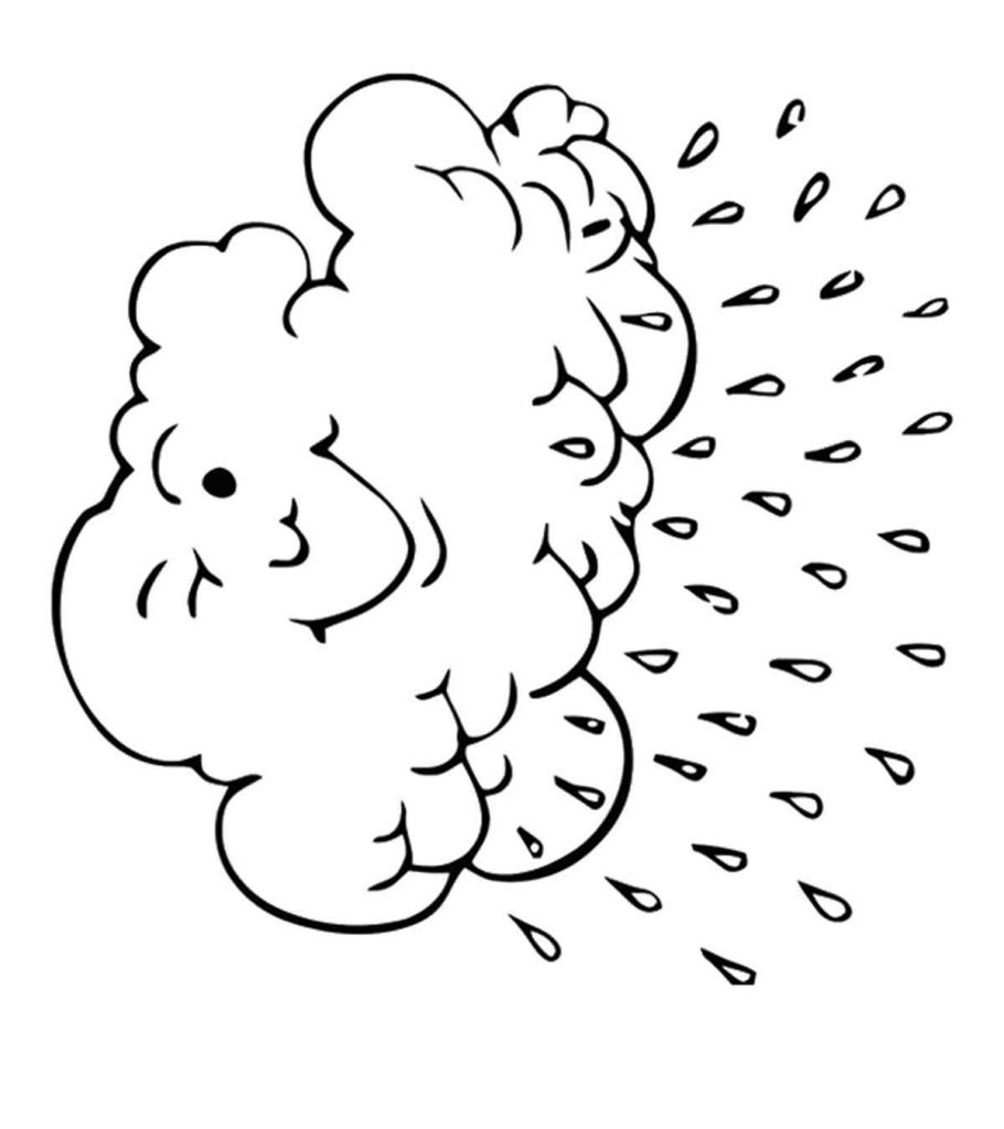 cloud coloring page cloud coloring pages free printables momjunction coloring page cloud