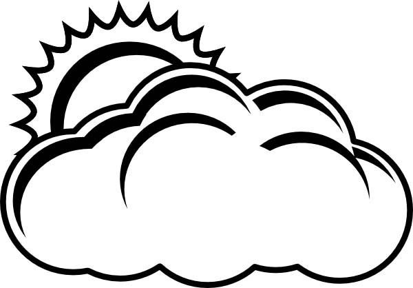 cloud coloring page coloring pages of clouds page 1 clipart best clipart best cloud coloring page