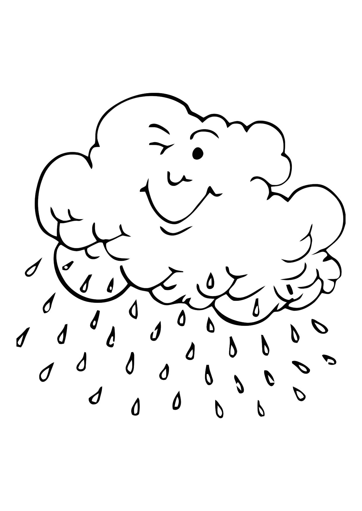 cloud coloring page free printable cloud coloring pages for kids coloring page cloud 1 1