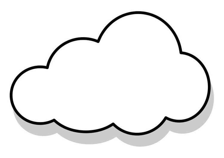 cloud coloring page free printable cloud coloring pages for kids modelo de page coloring cloud