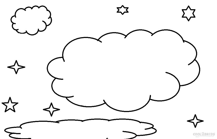 cloud coloring page printable cloud coloring pages for kids cool2bkids coloring page cloud 1 2