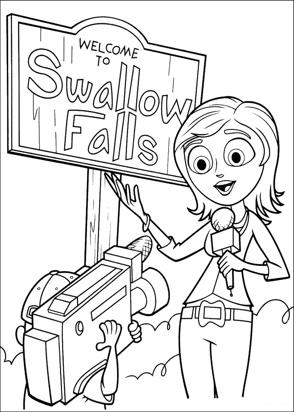 cloudy with a chance of meatballs 2 coloring pages berry from cloudy with a chance of meatballs 2 coloring of meatballs coloring 2 pages a with cloudy chance