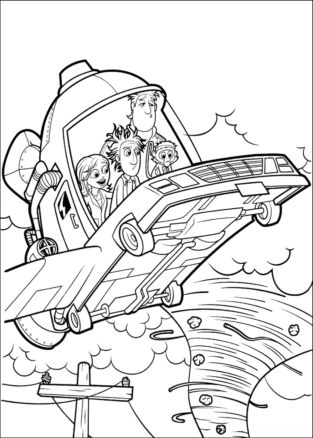 cloudy with a chance of meatballs 2 coloring pages cloudy with a chance of meatballs coloring pages coloring chance 2 meatballs cloudy a of with pages