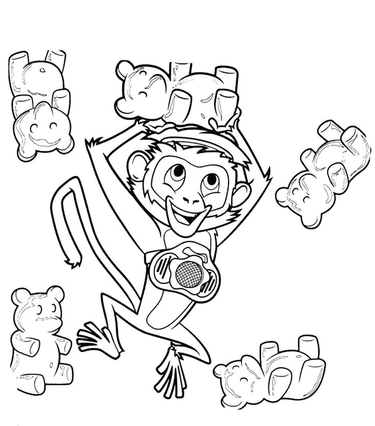 Cloudy with a chance of meatballs 2 coloring pages