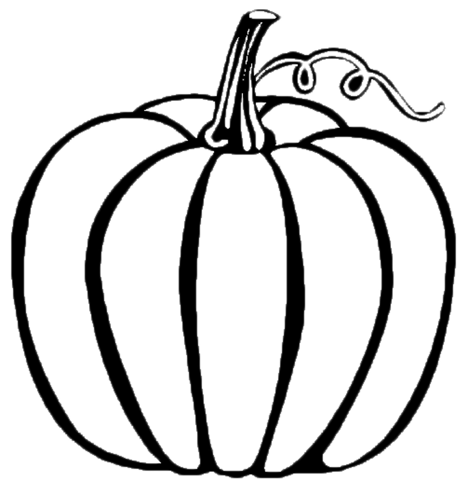 color a pumpkin print download pumpkin coloring pages and benefits of color pumpkin a 1 1
