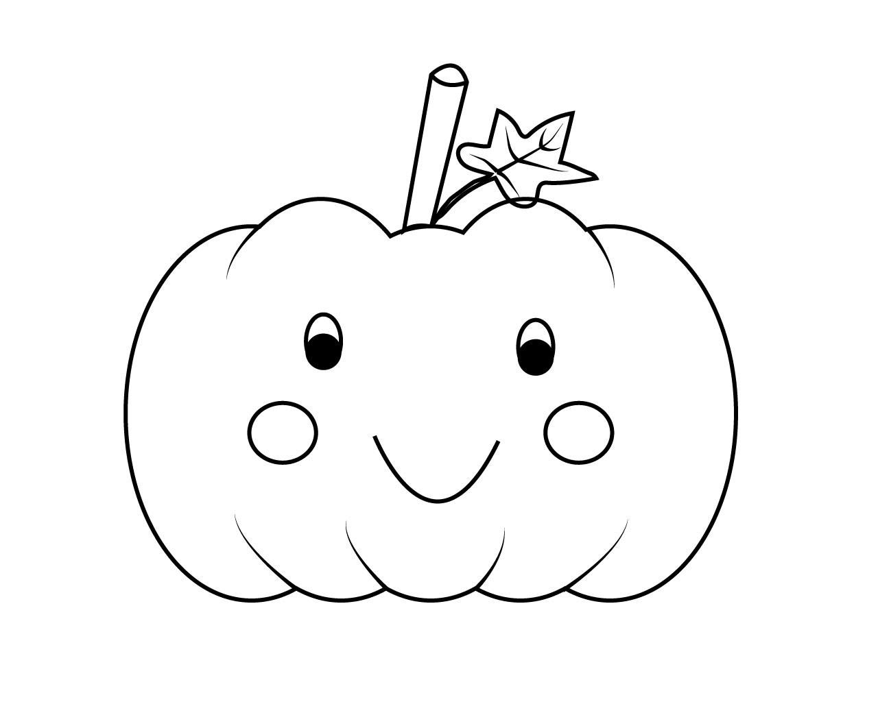 color a pumpkin pumpkin cute smile on pumpkin to color coloring pages pumpkin color a