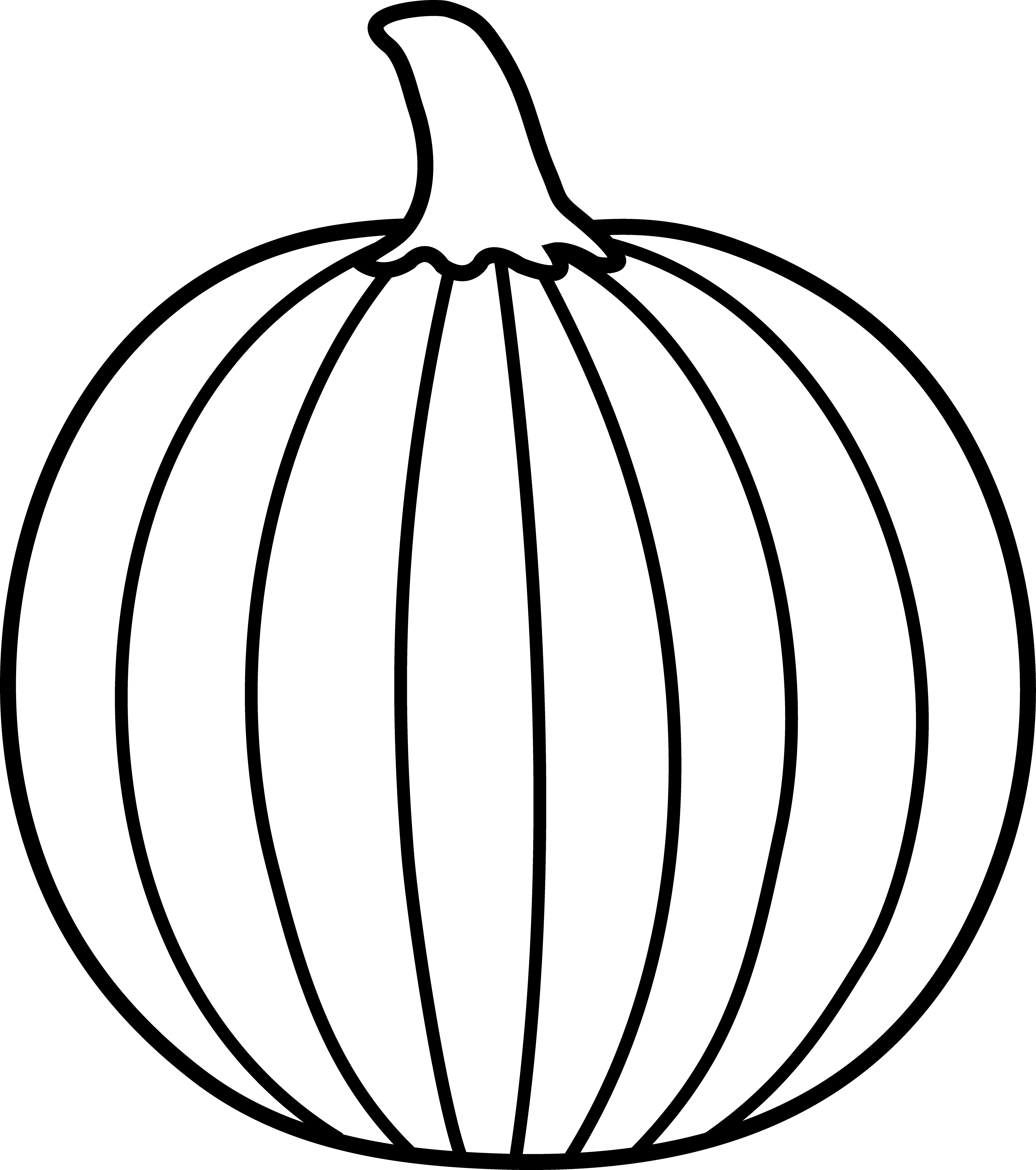 color a pumpkin simple pumpkin outline clipart panda free clipart images pumpkin a color