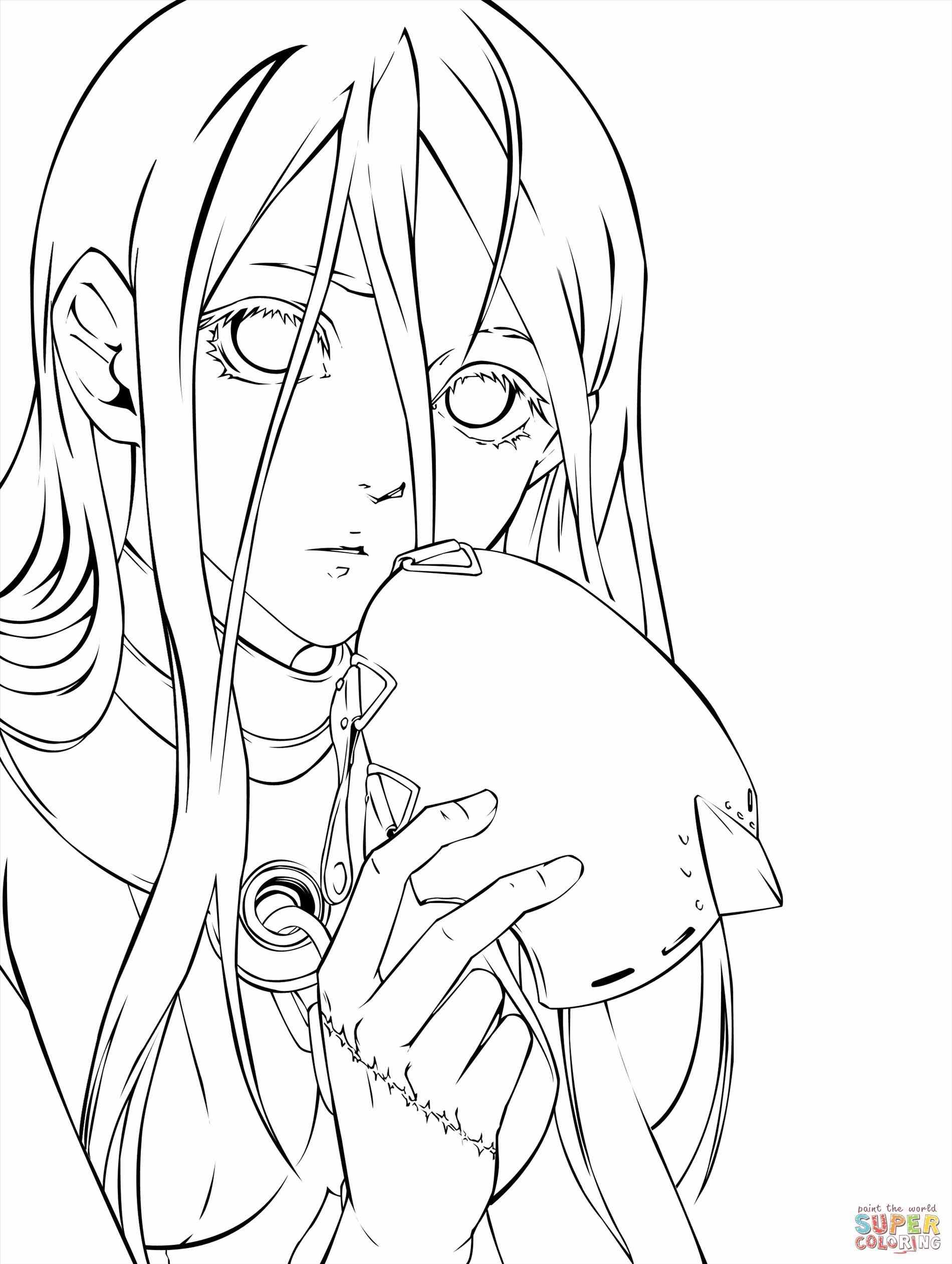 color anime 1189 best anime coloring pages images on pinterest color anime