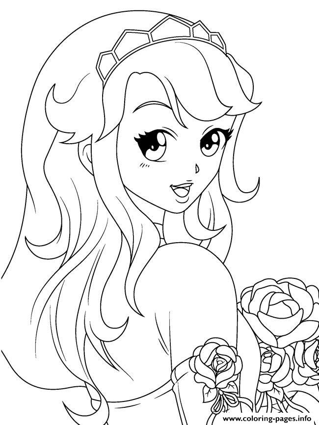 color anime anime girl by montzalee wittmann coloring pages printable color anime
