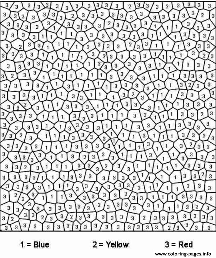 color by number pages for adults adult color by number coloring pages coloring home for pages number color by adults
