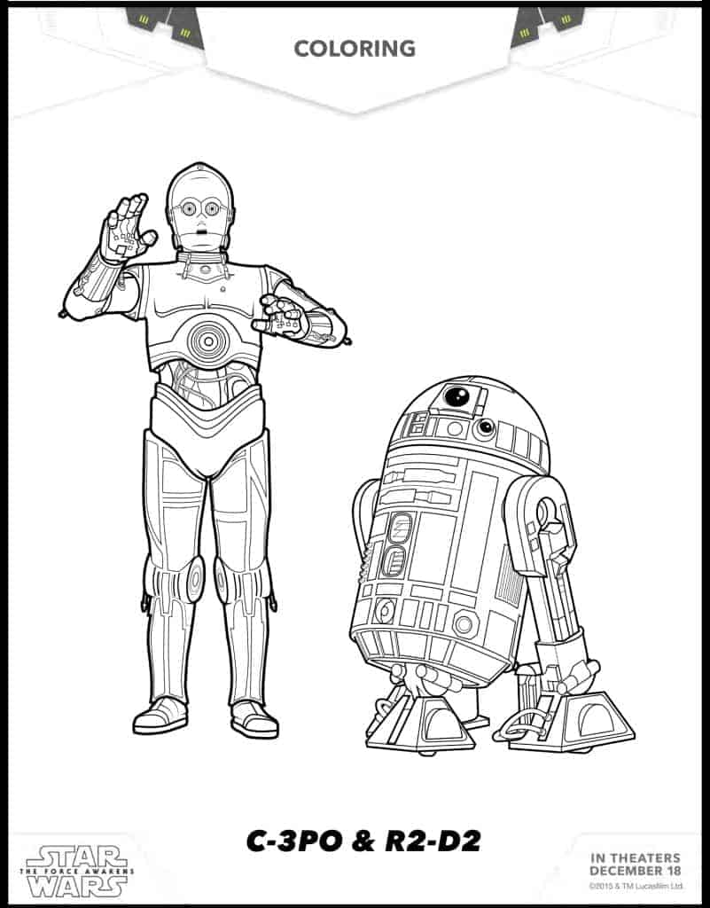 color pages star wars 8 free star wars the force awakens coloring sheets color pages star wars
