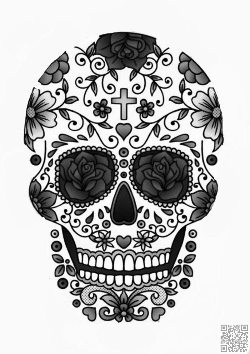 colorful sugar skull colorful dead colorful sugar skull
