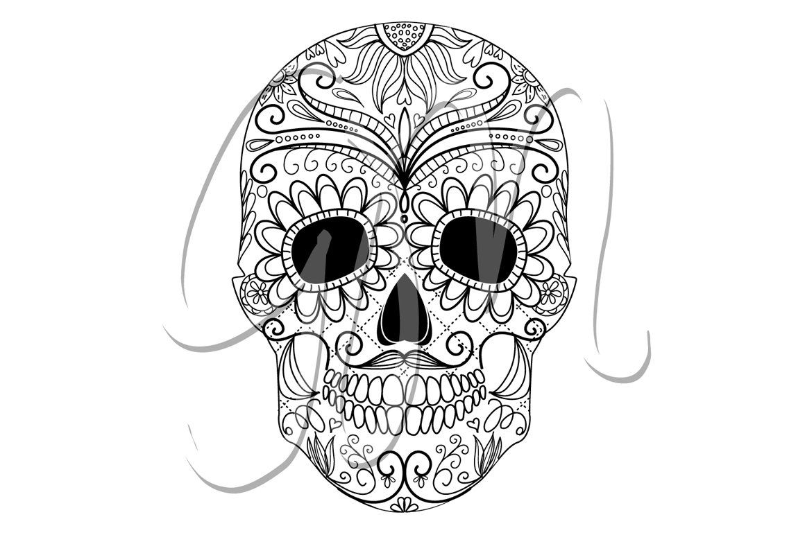 colorful sugar skull sugar skull day of the dead clip art sugar skull drawing sugar skull colorful