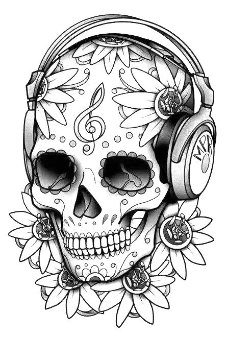 colorful sugar skull that39s more like itexcept non smerking skull skull colorful sugar