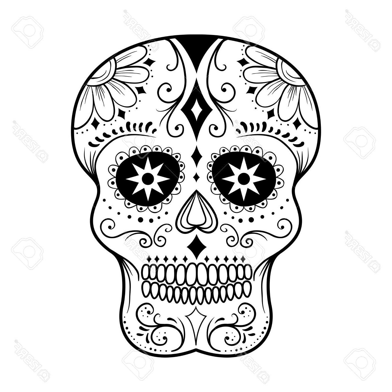 colorful sugar skull traditional colorful sugar skull art vector illustration sugar skull colorful