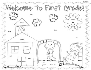 coloring activity for grade 1 spring coloring pages for first grade at getdrawings coloring 1 grade activity for