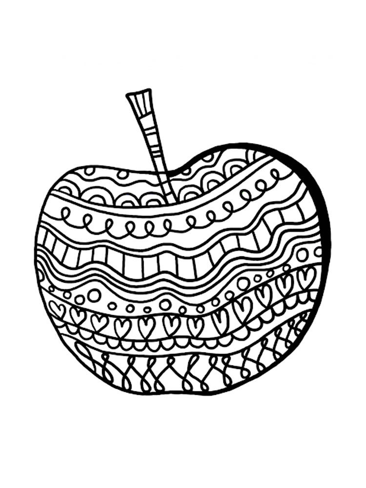 coloring apple coloring page of apple coloring home apple coloring