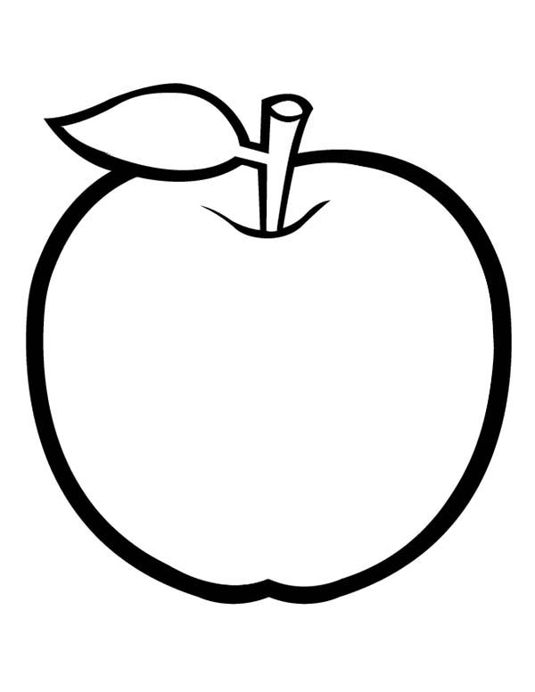 coloring apple free printable apple coloring pages for kids coloring apple