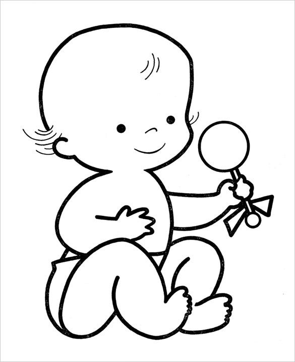 coloring baby pages 20 preschool coloring pages free word pdf jpeg png pages coloring baby