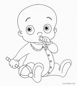 coloring baby pages free printable baby coloring pages for kids coloring pages baby 1 1